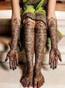 New Bridal Mehendi Designs 8
