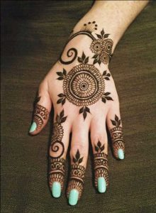 mehndi designs for bride's bestfriend 4