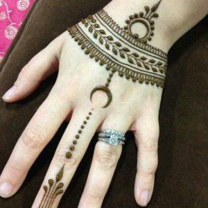 mehndi designs for bride's bestfriend 1